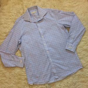 Michael Kors 15.5 non iron 34/35 dress shirt top
